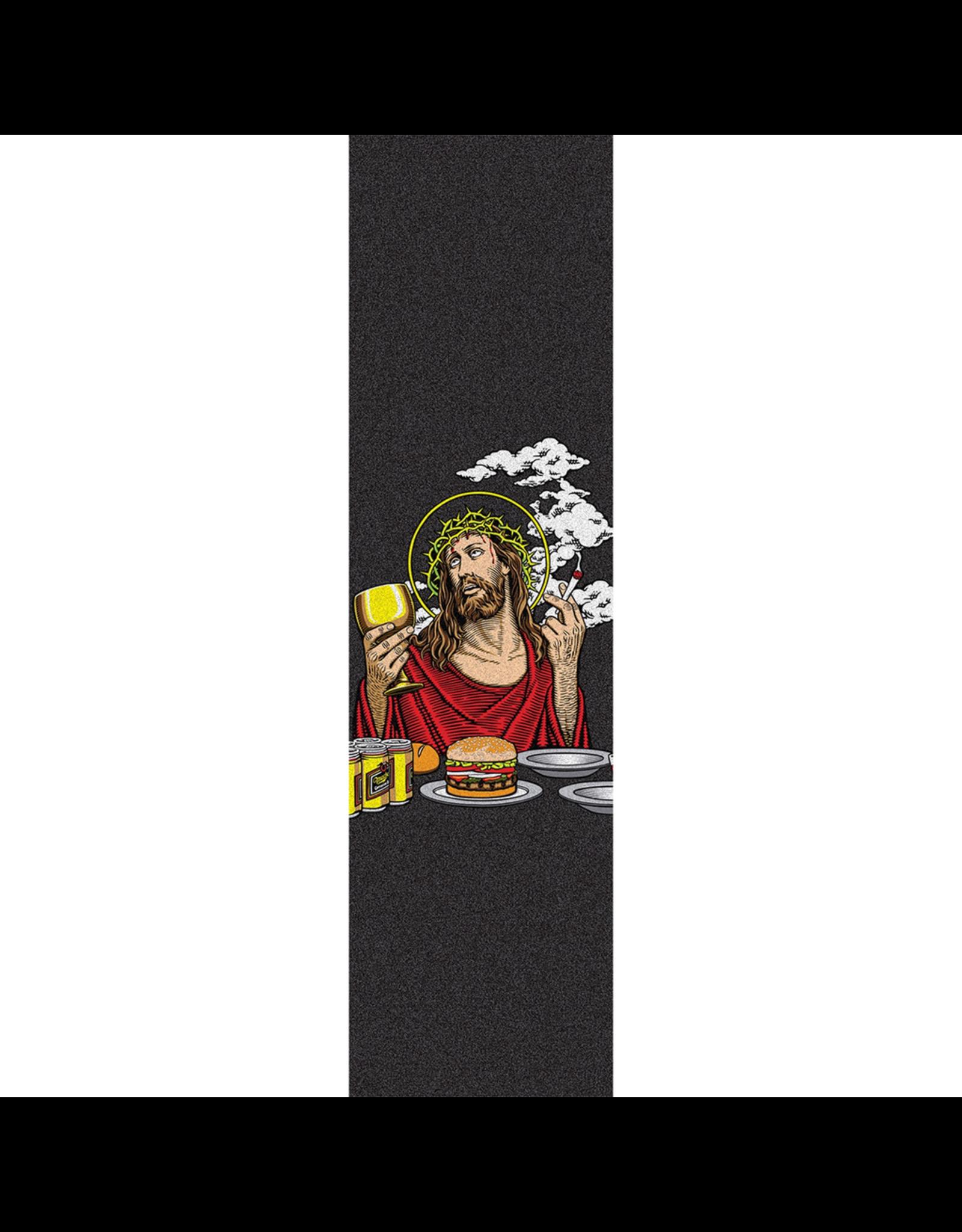 BLIND BLIND SKATEBOARDS SMOKING JESUS GRIP SHEET (9X33)