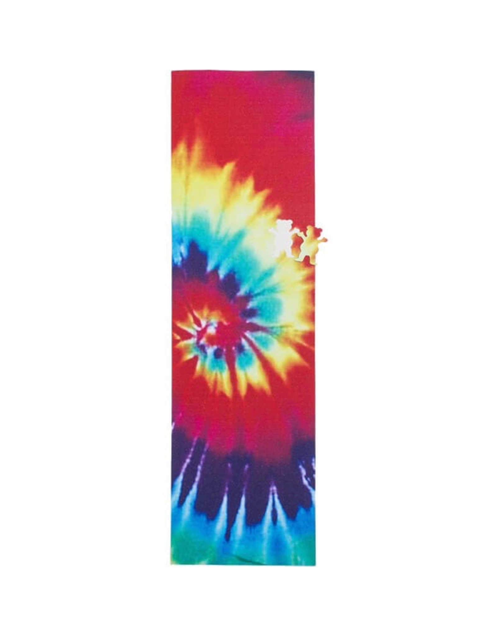 GRIZZLY GRIZZLY TIE DYE GRIP SHEET WITH CUTOUT (9X33)