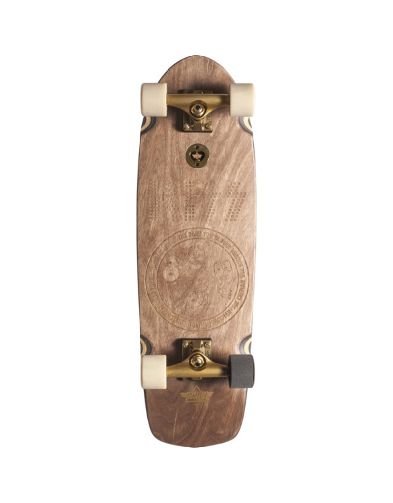 "Dusters Dusters Kiss Natural 29.5"" Cruiser Skateboard"