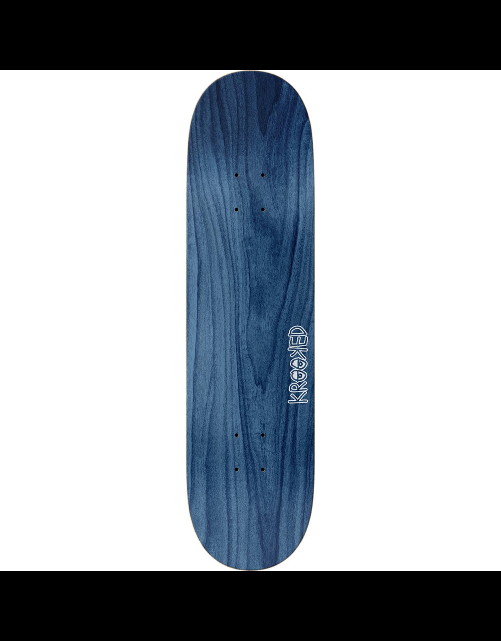"""KROOKED Krooked Skateboards Sebo Walker Posse Skateboard Deck - 8.38"""" x 32.45"""""""