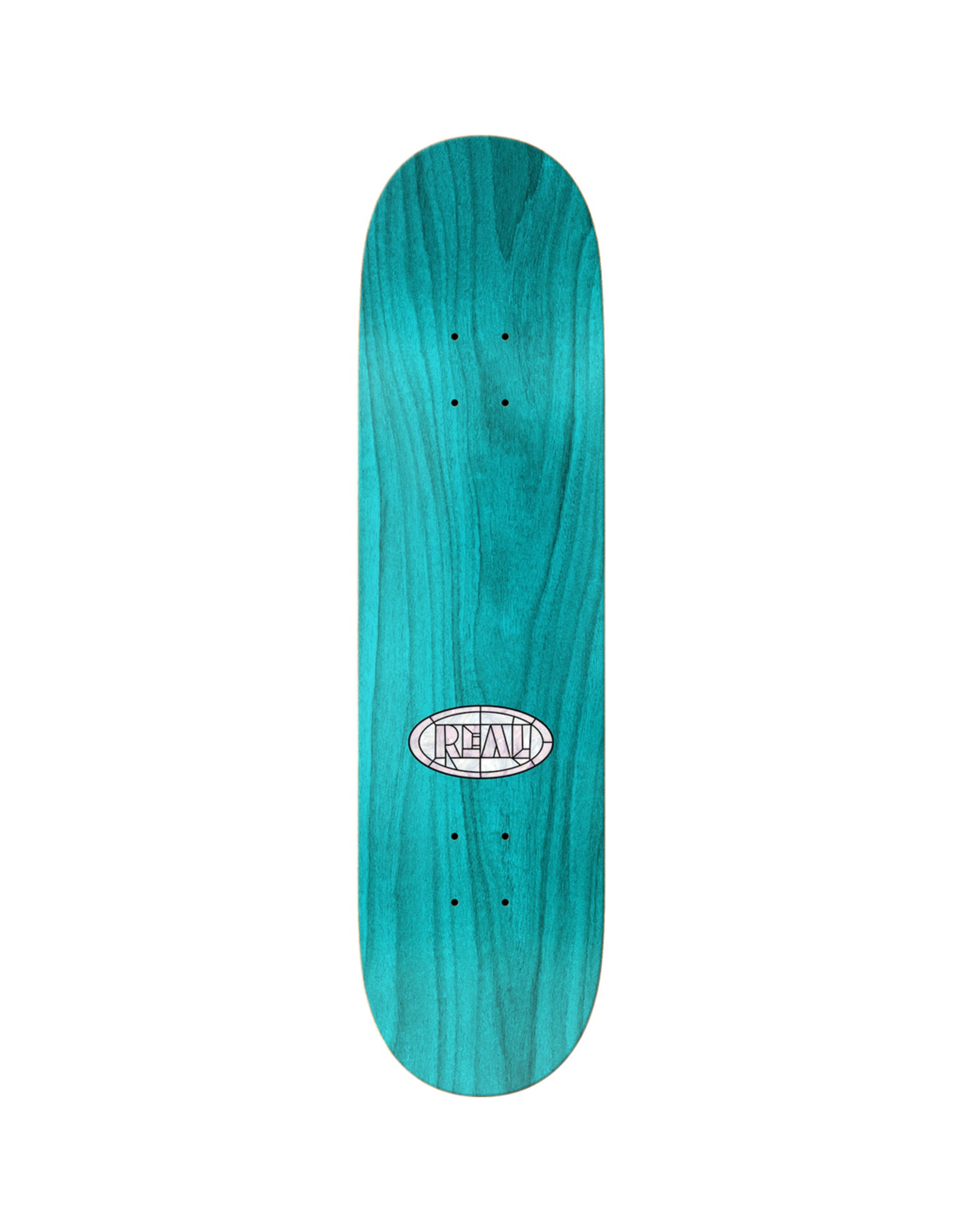"REAL Real Skateboards Dennis Busenitz Cathedral Skateboard Deck - 8.06"" x 31.8"""