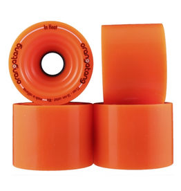 ORANGATANG ORANGATANG 75MM, 80A IN-HEAT, ORANGE (SET OF 4)