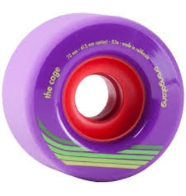ORANGATANG ORANGATANG 73MM, 83A THE CAGE PURPLE WHEEL (SET OF 4)
