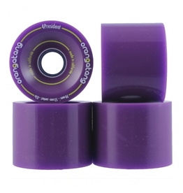 ORANGATANG ORANGATANG 70MM, 83A 4-PRESIDENT PURPLE (SET OF 4)