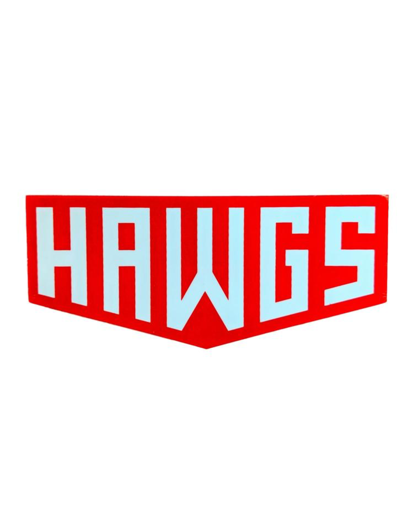 HAWGS STICKER
