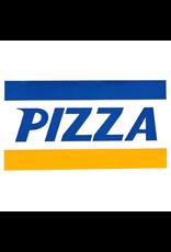 PIZZA CREDIT CARD STICKER