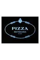 PIZZA LUXURY LIFE STICKER