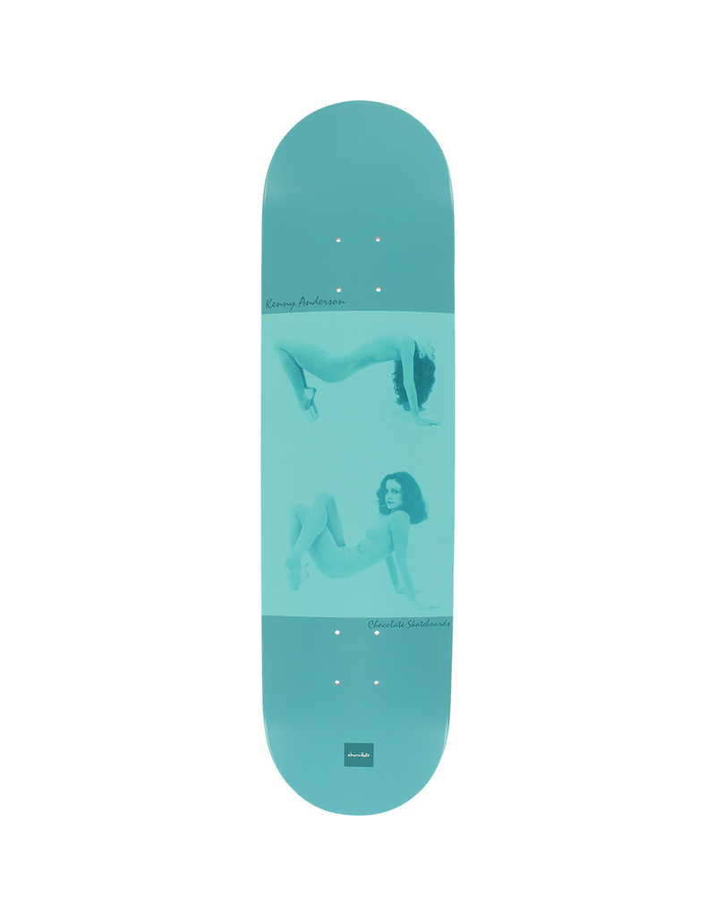 """CHOCOLATE Chocolate Skateboards Kenny Anderson One-Off Stretch Out Skateboard Deck - 8.12"""" x 31.625"""""""