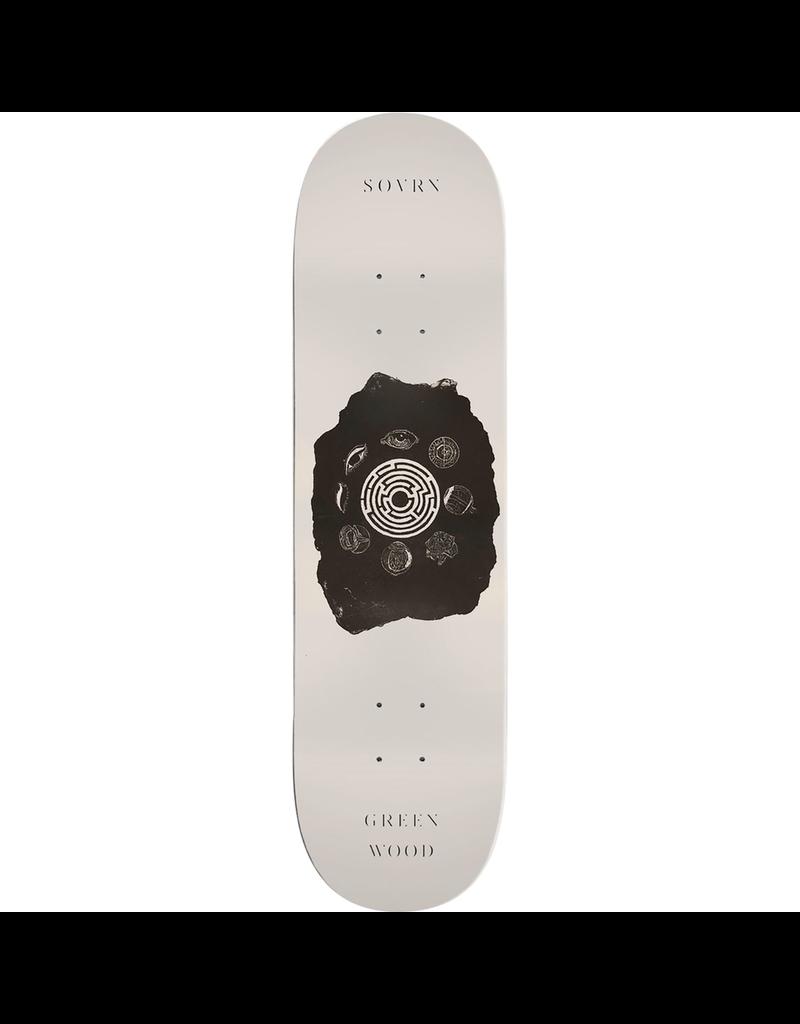 "SOVRN Sovrn Skateboards Grenwood Maze Skateboard Deck - 8.25"" x 32"""