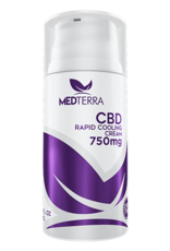 MEDTERRA CBD RAPID COOLING CREAM (750MG)