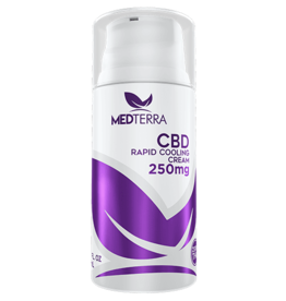 MEDTERRA CBD RAPID COOLING CREAM (250MG)