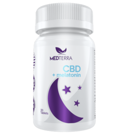 MEDTERRA CBD + MELATONIN DISSOLVABLE SLEEP TABLETS