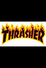 THRASHER THRASHER LOGO STICKER IN YELLOW