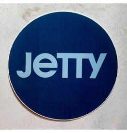 JETTY CIRCLE STICKER (BLUE)
