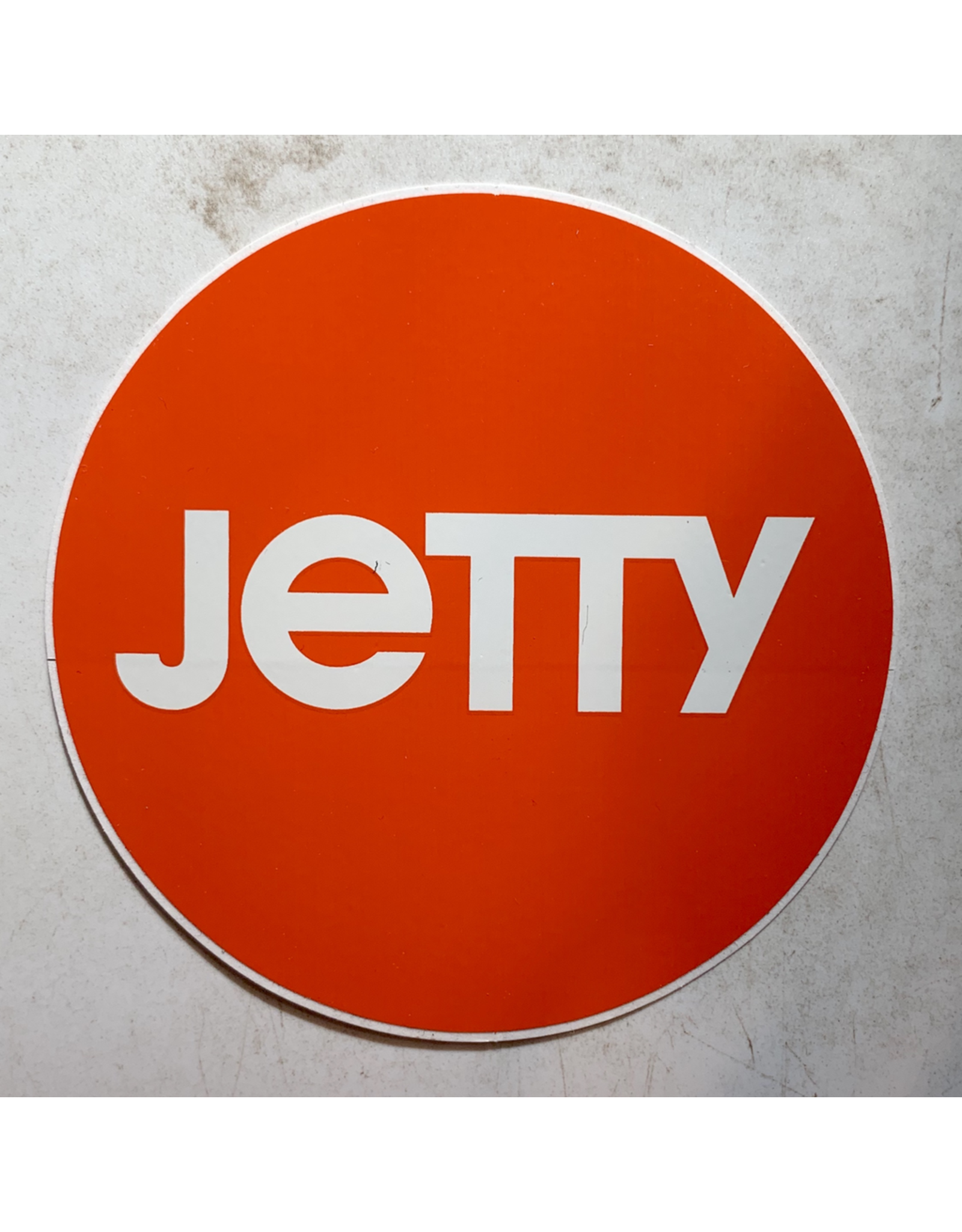 JETTY CIRCLE STICKER (ORANGE)