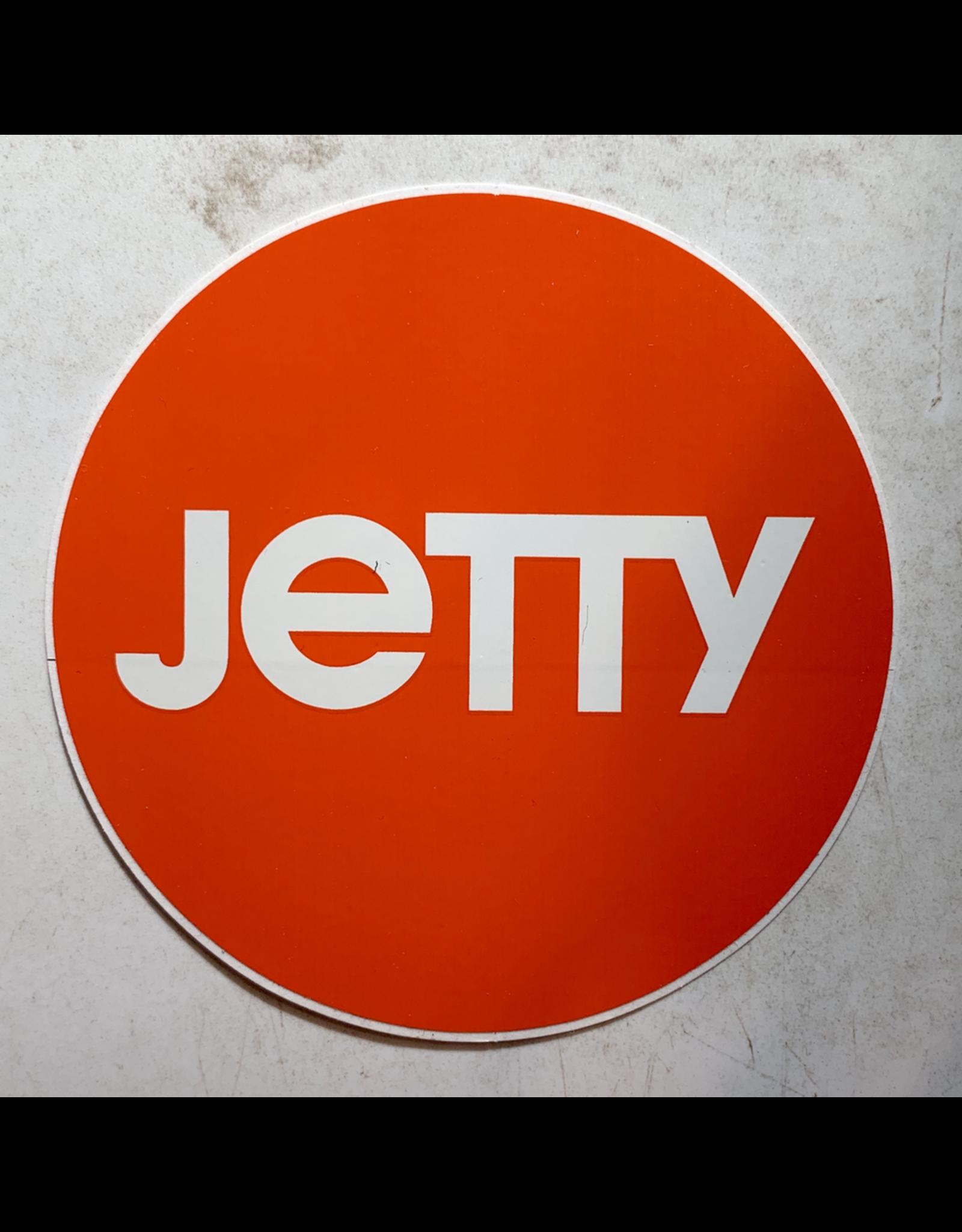 JETTY CIRCLE STICKER (ORANGE)