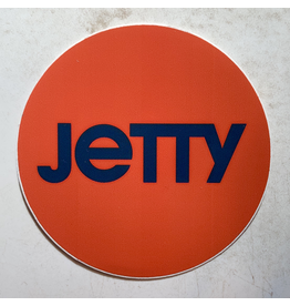 JETTY CIRCLE STICKER (RED)