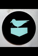 JETTY CIRCLE STICKER (BIRD)
