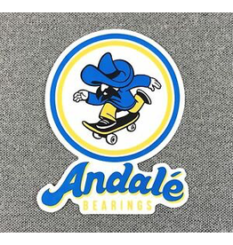 ANDALE BEARINGS ANDALE BEARINGS LOGO STICKER
