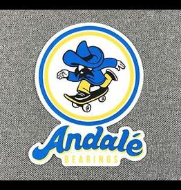 ANDALE BEARINGS ANDALE BEARINGS LOGO STICKER