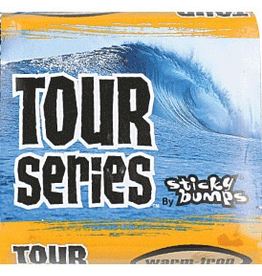STICKY BUMPS Sticky Bumps Tour Series surf Wax - WARM/TROPICAL