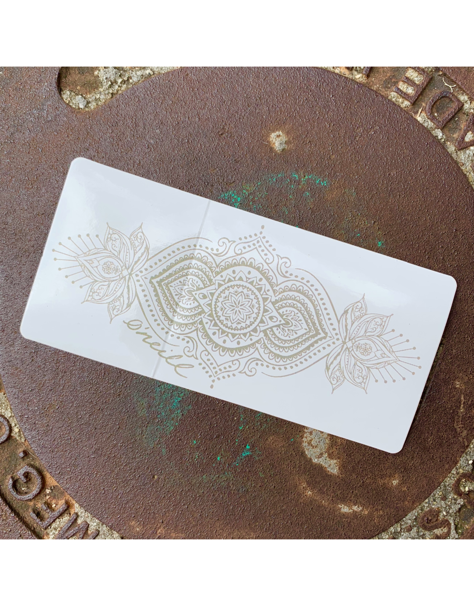 ONEILL HENNA STICKER