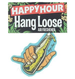 HAPPY HOUR Happy Hour Air Freshener Hang Loose
