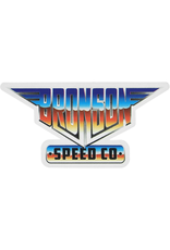 "BRONSON SPEED CO. Bronson Speed Co 2.25"" x 4.5"" Heavy Metal Vinyl Skate Sticker"