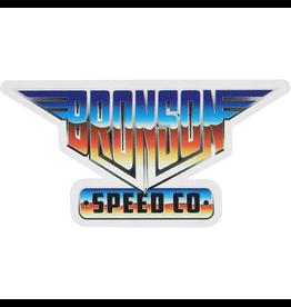 "BRONSON SPEED CO. Bronson Speed Co 2.25"" x 4.5"" Heavy Metal Vinyl Skate Sticker"