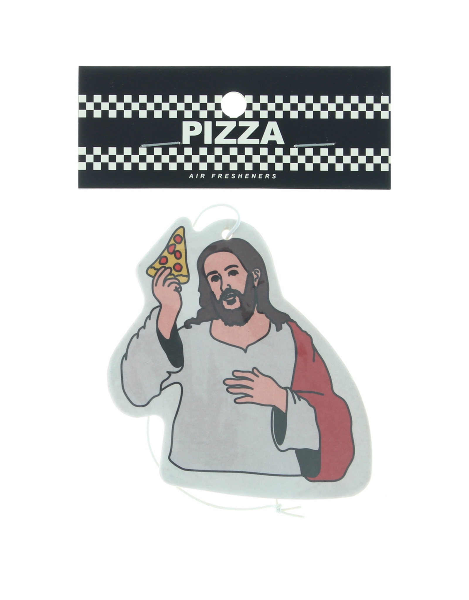 PIZZA Pizza Skateboards Last Supper Air Freshener