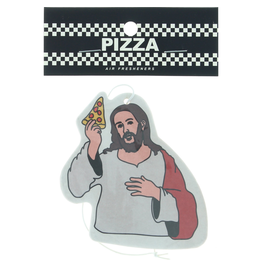 PIZZA Pizza Skateboards Last Supper Air Freshener