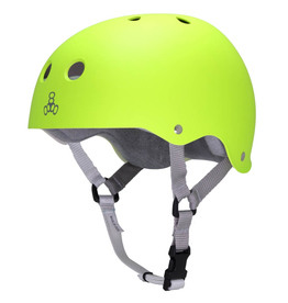 TRIPLE 8 T8 XS NEON YELLOW HELMET