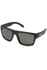 SUNCLOUD nisex Matte Black Frame Grey Polarized Lens Square Sunglasses