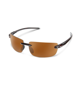 SUNCLOUD Suncloud Optics Highride Sunglasses Havana With Polar Brown Lens