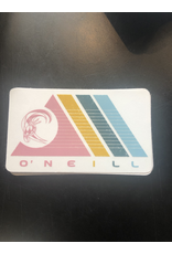 ONEILL O'NEILL COLORFUL TRIANGLES SURFER STICKER
