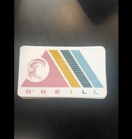 ONEILL O'NEILL COLORFUL TRIANGLES SURFER STICKER
