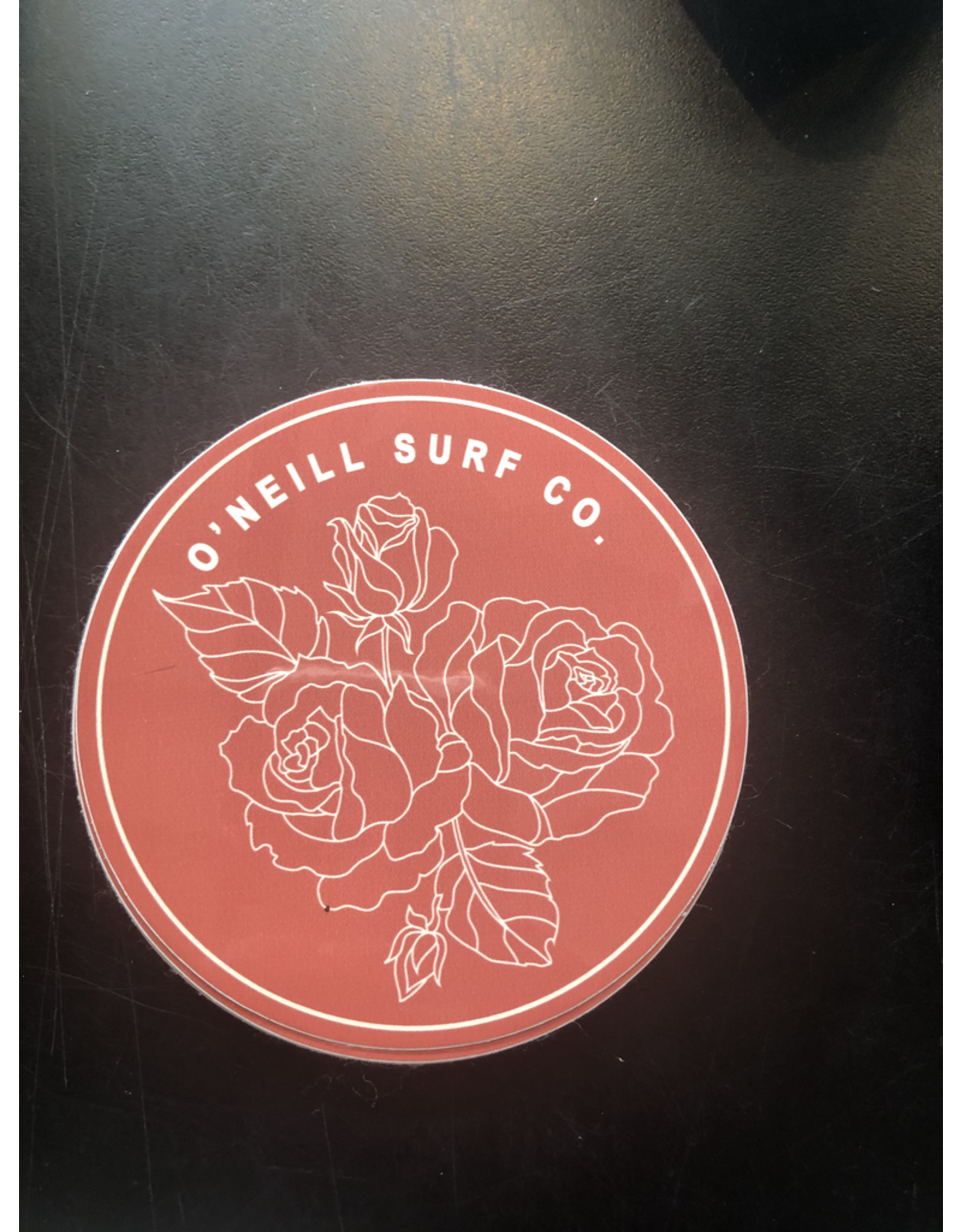 ONEILL O'NEILL ROSE CIRCLE STICKER