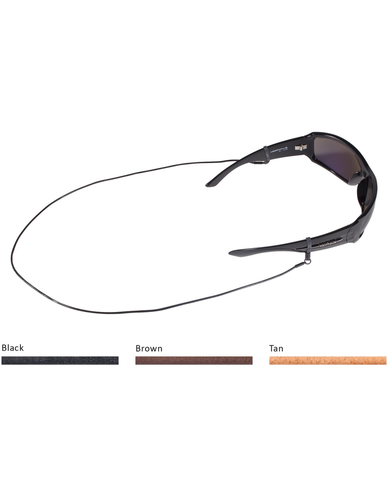 CROAKIES Croakies Premuim Leather Cord Eyewear Retainer
