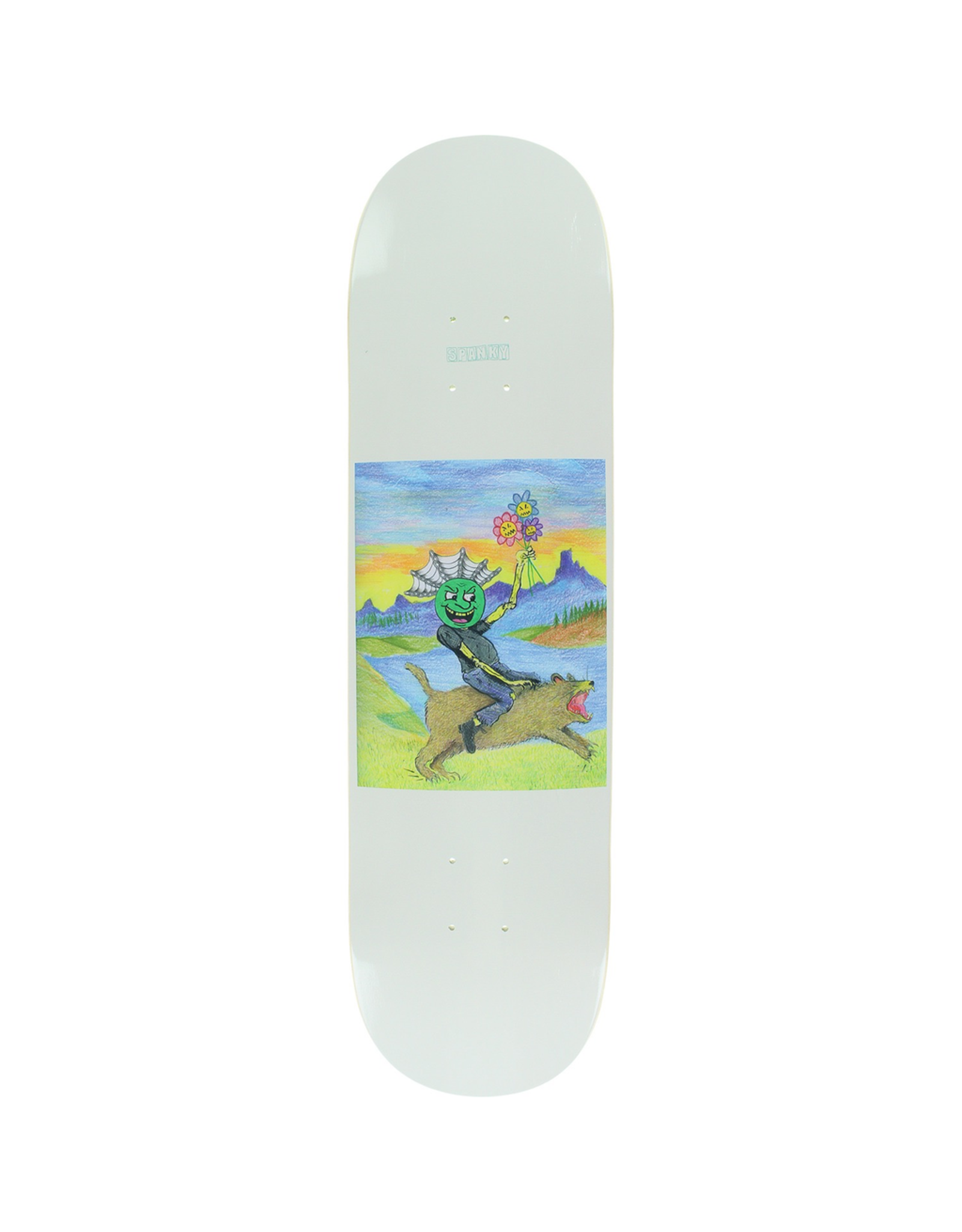 "BAKER Baker Skateboards Kevin ""Spanky"" Long Jolly Man Skateboard Deck - 8.12"" x 32"""
