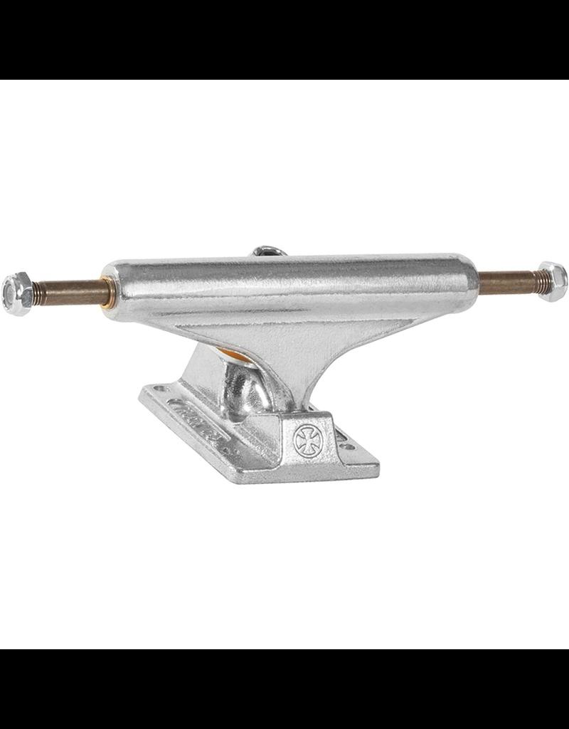 """INDEPENDENT Independent Stage 11 - 144mm Standard Polished Skateboard Trucks - 5.67"""" Hanger 8.25"""" Axle (Set of 2)"""