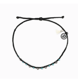 PURA VIDA Bead & Braid Silver