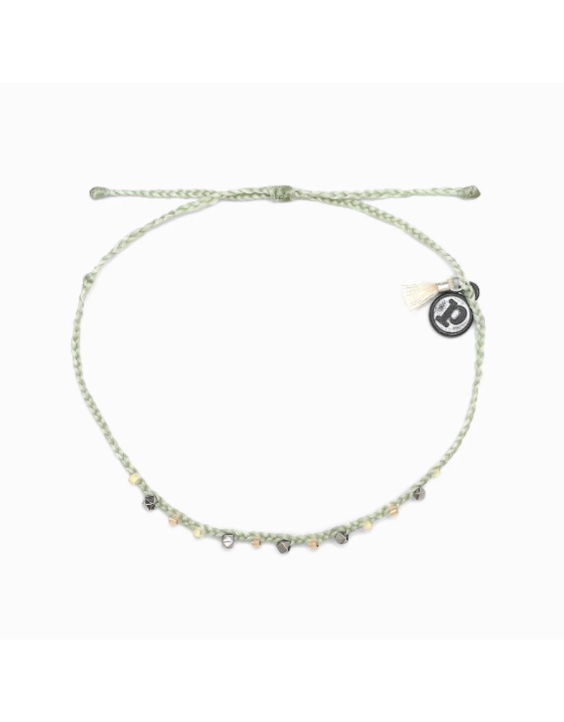 PURA VIDA Bead & Braid Silver
