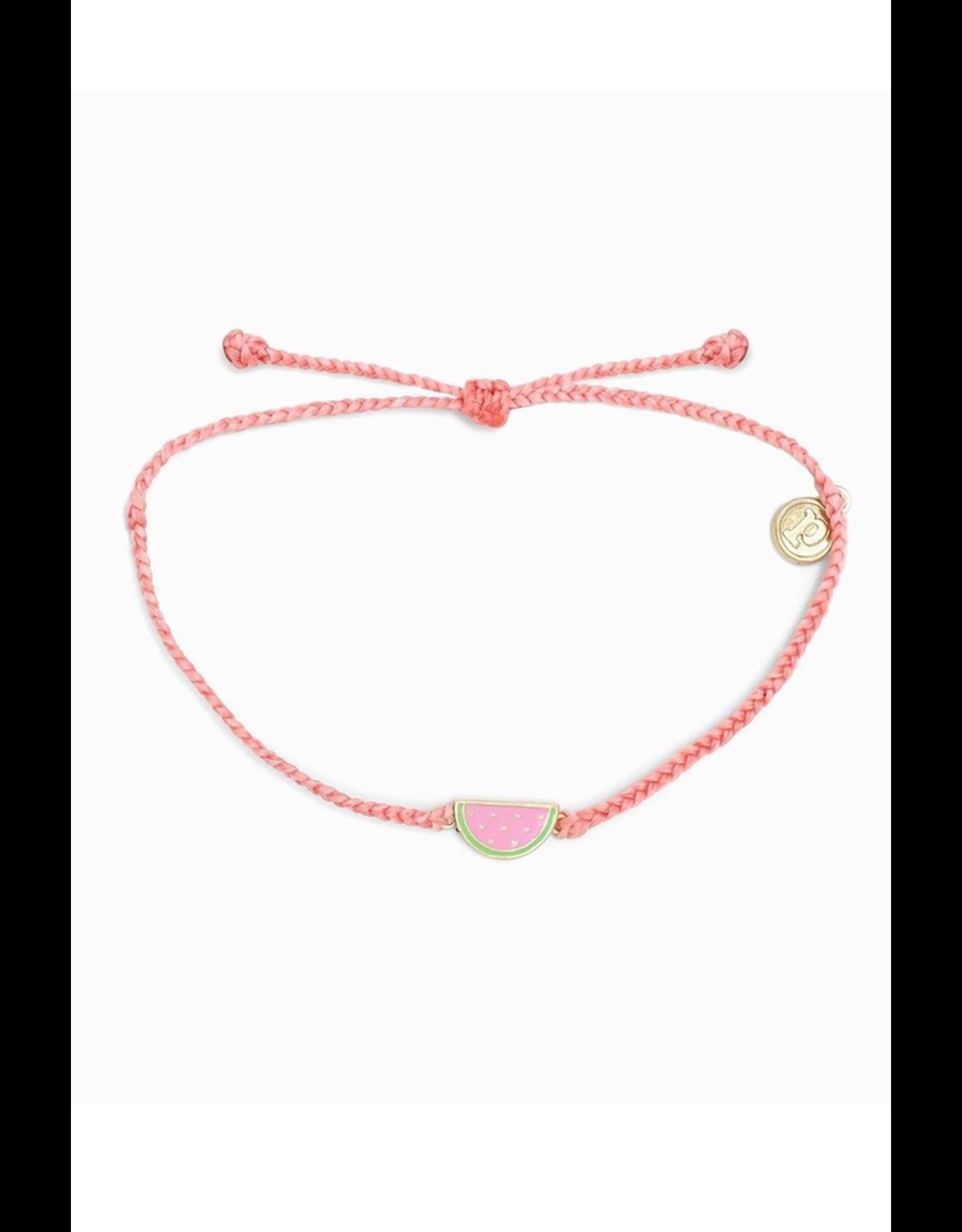 PURA VIDA Pura Vida Watermelon Charm Bracelet