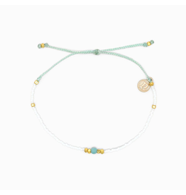 PURA VIDA Pura Vida Gem and Tube Seed Bracelet