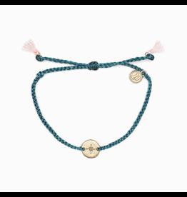 PURA VIDA Pura Vida Rose Gold Compass Bracelet