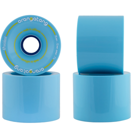 LOADED 70mm Orangatang 4President 77a Blue Longboard Wheels