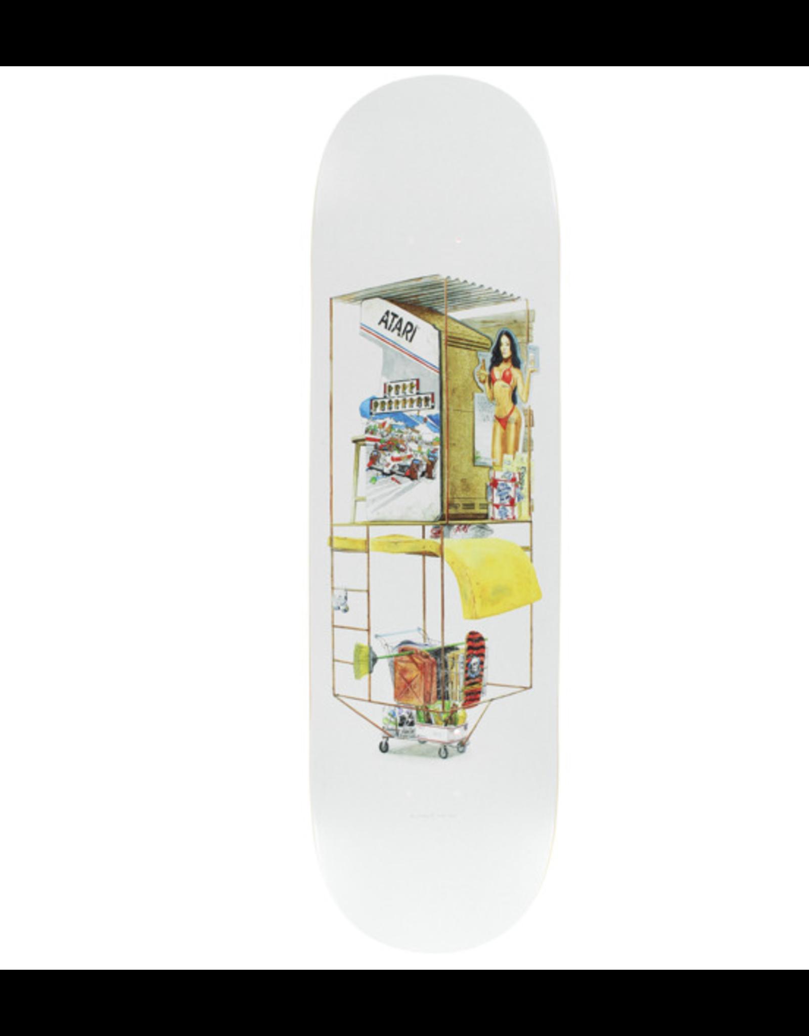 "Bacon Skateboards Coin Operation Skateboard Deck - 8.5"" x 32"""