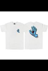 SANTA CRUZ Santa Cruz Skateboards Screaming Hand White Men's Short Sleeve T-Shirt