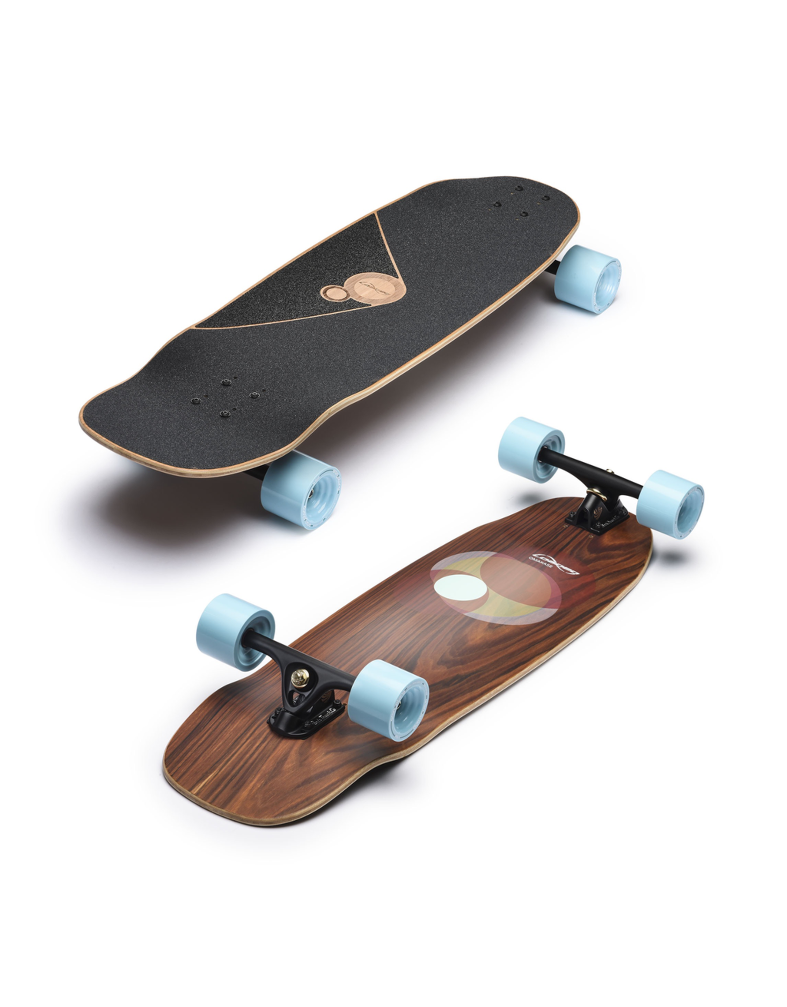 LOADED Loaded Omakase Roe Longboard In Heats 75mm Complete