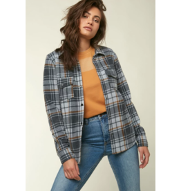 ONEILL ZUMA SUPERFLEECE FLANNEL TOP